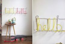 DIY for the Home / Projects I'd love to tackle...