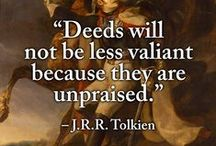 MIDDLE EARTH : QUOTES