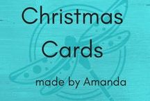 Christmas Cards / Christmas cards using Stampin' Up! products made by Amanda Fowler of Inspiring Inkin'