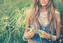 Bohemian Vibes / Get a head start on planning your wardrobe for the upcoming summer music/art festivals!!!  / by M.Fredric