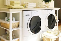 lovely laundry rooms / by Dropps