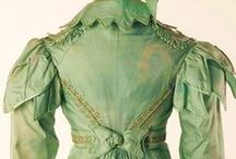 regency...dress and accessories / What (not?) to wear from the Regency.