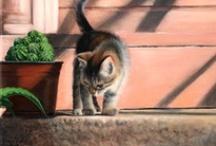 Cat Art / by Sandy Bobbitt