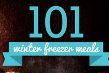 101 Winter Freezer Meals / Easy to assemble #freezer meals that are perfect for the winter months. Seasonal produce and grocery items considered. Lots of #crockpot recipes. / by Once A Month Meals