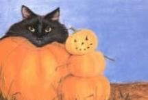 Black Cat--Halloween / by Sandy Bobbitt