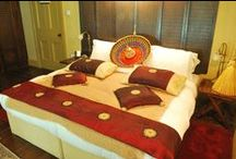 The Thai Suite / A King or Twin Room with a view of the front courtyard.