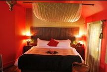 The China Suite. / An exotic king size and single bed suite, great for families or sharing alike.