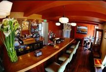 Deco Bar and Drinks. / Ballinacurra House has a fully staffed bar, serving the best of premium and hand picked wines, spirits, beers and soft drinks in contemporary and stylish settings.