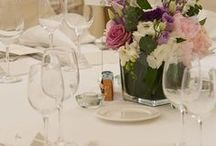 101 Table Settings. / Table settings and style are a very personal choice and at Ballinacurra we believe in providing you with a blank canvas with which to imprint your own style, taste and theme- for every couple there is a dream table setting.