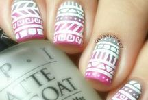 Tribal Nails / I see so many wonderful tribal nails that I decided it's time they get their own board!