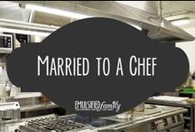 Married to a Chef / I love being married to a chef, but it's a bit crazy at times.  I enjoy collecting blog posts and articles I find online about this.  It helps me feel like I'm not so alone!  Make sure to check out my other chef related boards.