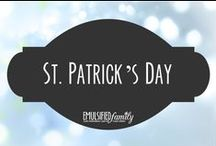 St. Patrick's Day / St. Patrick's Day decorations, crafts and food ideas