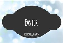 Easter / Easter decorations, crafts and food ideas