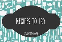 Recipes to Try / So many great recipes . ..  so little time.  This is my collection of recipes or ideas I'd like to try (after first running the recipe past my chef/husband to make sure it will work.) / by Jennifer @ Emulsified Family