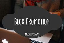 Blog Promotion / Now that you have content it is time to promote it via email newsletters, Facebook, Twitter and Pinterest. Pins are tips and tricks to help promote your blog.