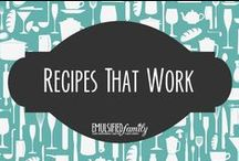 Recipes that work / Don't you hate it when you try a recipe and it's not correct?  We do too!  My chef/husband or I have personally tried each of these recipes, as written, and guarantee they will work.