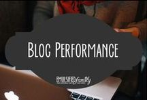 Blog performance / If you are like me, I want to see how well my blog is performing and what I can do to make it load faster!  I need all the help I can get!