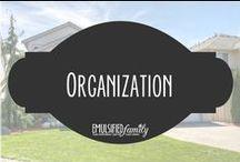 Organization / Organization tips and tricks