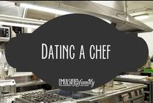 Dating a Chef / Trying to find time when you are both off work is TOUGH when you are dating a chef.  Below I've rounded up some of my favorite blog posts and articles on the topic, some funny and some helpful!