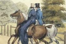 regency...creatures and critters, and the pursuit thereof / Foxes and Wolfhounds and Hunters, oh my.