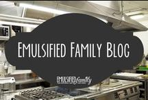 Emulsified Family Blog / I blog about combining restaurant and family life over on EmulsifiedFamily.com.