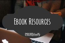 E-book Resources / Time to write an ebook for my blog readers.  I need all the help I can get!