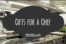Gifts for a Chef / Mostly culinary ideas, but hopefully some of these pages will help all of us chef wives and significant others get a few new ideas for Christmas or Birthdays.