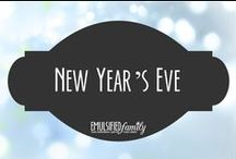 New Year's Eve / New Year's Eve decorations, activities and food ideas