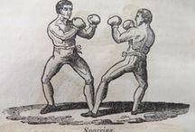 regency...manly pursuits / put up your dukes and en garde