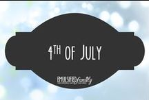 4th of July / Recipes, craft ideas and decoration ideas for the 4th of July