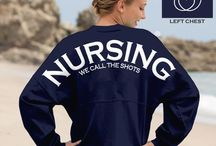 Nursing / Just a few shirt ideas for the nursing students, add more people & pins if y'all want :)
