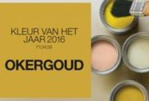 Lifedsign ♡ OKERGOUD / Colourfutures Internationale kleurtrends 2016 Looking both ways