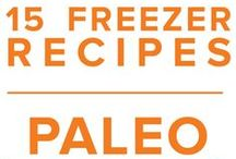 Paleo Freezer Menu November 2015 / Homey turkey soup and beefed up sweet potato casserole highlight some of the humble yet comforting flavors of autumn in our Paleo November Menu. / by Once A Month Meals