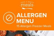 Allergen Autoimmune Protocol January Menu / Make time for yourself and your health at the start of the year with our Allergen Autoimmune Protocol January Menu. Gelatin rich berry pudding, succulent spinach stuffed chicken, and curried sweet potato shepherd's pie round out this delicious month of freezer meals. / by Once A Month Meals
