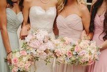 Brudtärnor - inspiration / Vackra klänningar, frisyrer och färger till alla brudar och tärnor