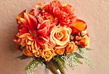 Bridal Bouquets Autumn ~ Brudbuketter Höst / Beautiful wedding bouquets in autumns colours