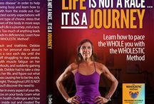 Life is Not a Race Book / Debbie Potts writes about her journey healing from adrenal exhaustion and shares her lessons learned from the experience to help others