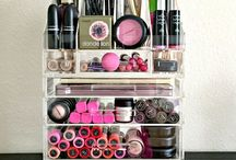 Make-up Organization & Beauty Tips