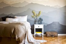 Beds. Bedding. Headboards. Rooms. / I like to sleep on comfy, pretty stuff :) / by Cindy Mills