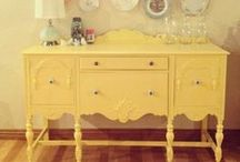 Fantastic Furniture / I want to paint just about every piece of furniture I own! Is that wrong?!? / by Cindy Mills