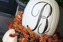 Seasonal: Autumn / Fall decor, food, craft ideas, & Halloween.  / by Cindy Mills