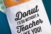 Favorite Teacher Appreciation Things