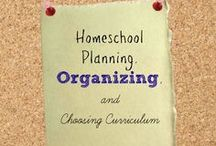 Organizing & Planning - HSBA / Organizing your #Homeschool / Planning and Scheduling Your School Year!