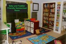 Spaces - HSBA / Decorating and room ideas for homeschool homes.