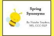Spring--Language Therapy / by Linda V