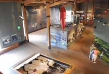 Exhibits & Spaces / Exhibits and other dynamic spaces on the National Mississippi River Museum & Aquarium campus in the Port of Dubuque, Iowa.