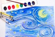 Creative Classroom Art / Creative Art ideas for the classroom and education