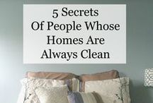 Cleaning tips / by Peggy Bousman