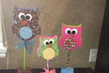 Owls / Liz loves owls...these are for her / by Deborah Ballard