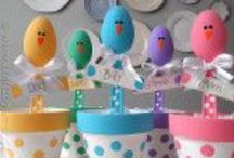 Easter  / I love easter..the colors, the peeps, the flowers, the bonnets and new dresses...Spring time has arrived / by Deborah Ballard